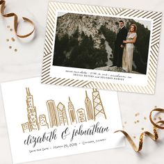 New save-the-dates from Minted