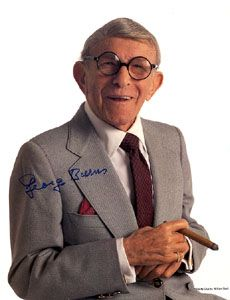 George Burns – was the stage name of Nathan Birnbaum. He was a legendary Jewish American comedian who went on to work in movies, radio, and early TV. He became well-known for his longevity, despite an affinity for alcohol and cigars! Stages Of Alcoholism, Jewish Comedians, Henny Youngman, George Burns, Negative People, Negative Thoughts, Ageless Beauty, Positive Attitude, Funny People