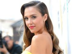 Sultry: The actress Jessica Alba showed off her perfectly coiffed hair and a glowingly bronzed tan Rachel Bilson, Ashley Tisdale, Top Knot, Celebrity Gallery, Celebrity Style, Maternity Shapewear, Old Hollywood Waves, Hollywood Hair, Up Dos