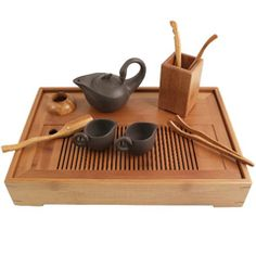Kung fu tea preparation