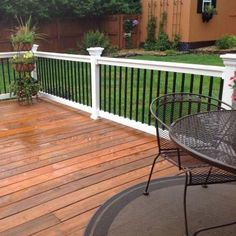 Best Cabot Deck Stain In Semi Solid Bark Mulch Half Stained 400 x 300