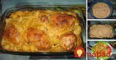 Výborné jedlo, ktoré pripravíte počas reklamy: Chrumkavé kurča so zemiakmi v krémovej horčicovej omáčke!