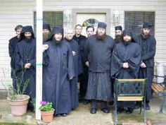 All the fathers, after breaking the Clean Monday and Tuesday fast following Presanctified this morning
