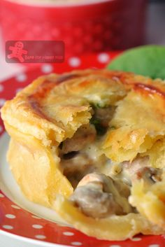 Country Chicken and Mushroom Pies (Maggie Beer) plus event round up pies Beer Recipes, Turkey Recipes, Steak Recipes, Recipes Dinner, Pastry Recipes, Cooking Recipes, Savory Pastry, Savoury Pies, Chicken And Mushroom Pie