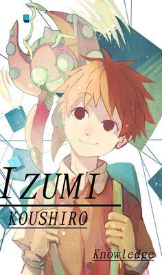 Koushiro & Tentomon