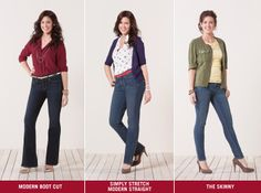Signature by Levi Strauss & Co.™ -  Fashionable jeans for women!