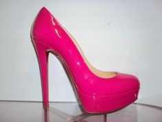 Christian Louboutin - Bianca | *Need* some Loubis in this colour!