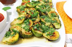 Momofuku's Recipe Roasted Brussels Sprouts with Fish Sauce Vinaigrette