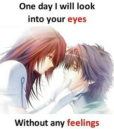 ;-; My Feelings For You, One Day I Will, Eyes, Anime, Amor, Anime Shows, Anime Music, Animation, Anima And Animus