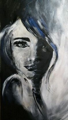 Abstract art, abstract portrait art, woman painting, black and white art, portrait painting Smoke Painting, Acrylic Portrait Painting, Air Brush Painting, Abstract Portrait, Woman Painting, Acrylic Painting Canvas, Portrait Art, Woman Portrait, Sad Paintings