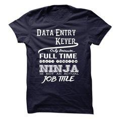 (Tshirt Deal Today) Ninja Data Entry Keyer T-Shirt [Tshirt design] Hoodies, Tee Shirts