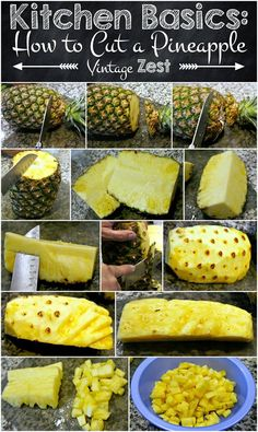How to cut and peel fruit easily