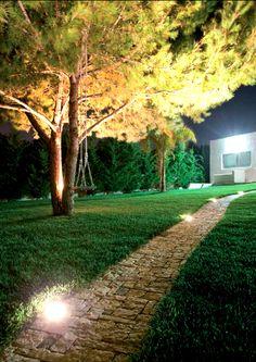 Bel Lighting éclairage extérieur spots encastrés exterior garden lighting