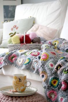 Ruperts house | gorgeous blanket