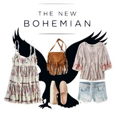 """The New Bohemian with American Eagle Outfitters: Contest Entry"" by cachomy ❤ liked on Polyvore featuring American Eagle Outfitters and aeostyle"