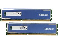 Kingston HyperX Blu 8GB (2 x 4GB) 240-Pin DDR3 SDRAM DDR3 1600 (PC3 12800) Desktop Memory Model KHX1600C9D3B1K2/8GX