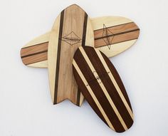 Surfboard Cutting Boards - cutting boards - other metro - The Santa Barbara Company