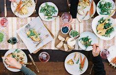 food that is pretty *   {kinfolk -- Table by Leo Patrone and Sarah Winward}