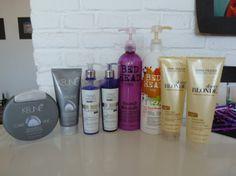 Cuidados cabelos loiros, descoloridos/shampoos e condicionadores / Truques de maquiagem