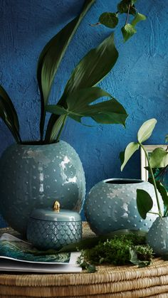 H&M Home | Liven up any room with new home accessories and green tones.