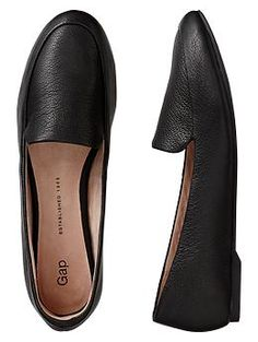 Gap Leather Loafers / Pants, shorts, dress, etc. Dressed up or down. Very versatile.