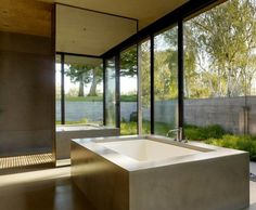 Bathtubs by Flying Turtle Cast Concrete