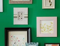 How To Repurpose Your Art!    Do you have large art collections decorating the underside of guest beds and closets? Follow this link for some great tips to repurpose your art, keep the pieces you truly love in your collection, and stay green!