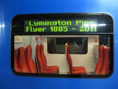 South West Trains - Train Class 450 - Signage by South West Trains_, via Flickr South West Trains, Signage, Style, Swag, Billboard, Signs, Outfits
