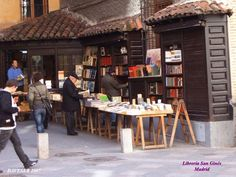 Book Store San Gines, Madrid, Spain