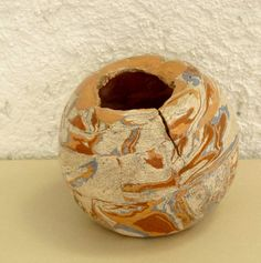 Bola marmorizado by Malu Serra, via Flickr