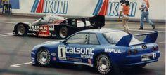La historia de la semana: El JGTC de 1994 y el Nissan Skyline GT-R que ganó a todo un Porsche 962C