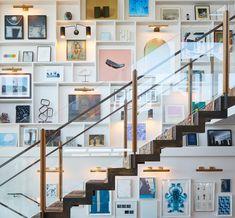 Soho House Malibu, Soho Beach House, Hipster Home, Stairway To Heaven, Stairways, Picture Wall, Home Art, Beautiful Homes, Beautiful Space