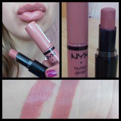 nice Lip combo Wet n Wild Bare it all lipstick and NYX butter gloss in Tiramisu! Nyx Lip, Lipstick Dupes, Drugstore Makeup, Lipstick Colors, Lip Makeup, Lip Colors, Beauty Makeup, Lipsticks, Eyeshadow Dupes
