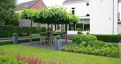 Tuinontwerp - tuinontwerpen | Foto's voorbeelden moderne tuinarchitectuur pag. 4