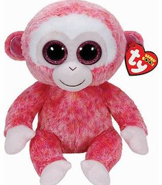 Ty Beanie Boo Ruby The Red Monkey Plush Doll Toy Day Products,Gifts Products Beanie Babies, Ty Babies, Ty Animals, Ty Stuffed Animals, Stuffed Toys, Plush Animals, Ty Teddies, Ty Beanie Boos Collection, Ty Peluche