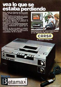 Sony Betamax...