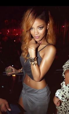 Riri can be so wild, but can't deny her style. Whatever IT is, she has it.