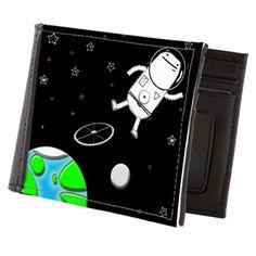 Space Walk Mens Wallet> Home & Travel> Big Phil Walking, Wallet, Space, Big, Travel, Floor Space, Viajes, Woking, Handmade Purses