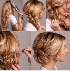curls.. fish tail.. textured bun..