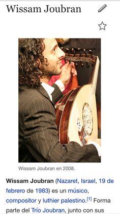 Música- compositor y músico famoso palestino Wissam Joubran