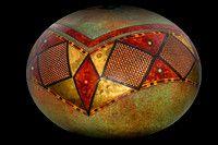 Gourd Art by Bill Colligen