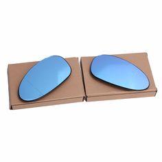 1 Pair Heated Wing Mirror Rear View Blind Spot vertical line Glass For BMW E82 E88 E46 M3 E85 E90 E91 C/5 #Affiliate