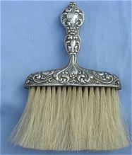 Sterling Bonnet Brush, Victorian