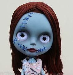 Blythe Dolls Sally The Nightmare Before Christmas