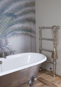 colossus steel floor mounted towel rail in various sizes with 4 or 6 bars. Traditional Radiators, Cast Iron Bath, Copper Bath, Bathroom Furniture, Bathroom Ideas, Shower Rail, Bath Panel, Radiator Valves, Roll Top Bath