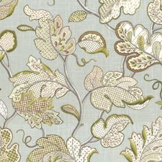 Felicity Spa Fabric by Ballard Designs: Love this! May use this for a custom made chair.
