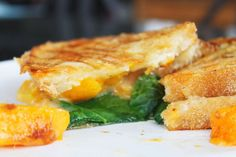 1 loaf of sourdough bread, sliced into 1/4 inch slices     1 butternut squash, peeled and cubed small     brie cheese, sliced     baby kale, or tuscan kale with the ribs cut out, sliced thin     Butter     Salt and pepper