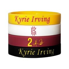 Silicone Wristband Bracelet NBA, Kyrie Irving , more NBA…