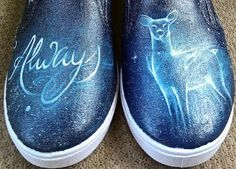 Hey, I found this really awesome Etsy listing at https://www.etsy.com/listing/187606981/harry-potter-always-painted-shoes