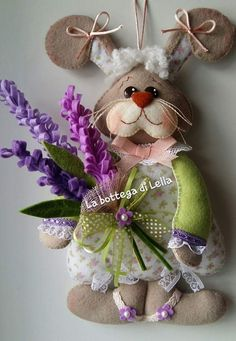 Bunny Crafts, Felt Crafts, Easter Crafts, Holiday Crafts, Cute Diy Projects, Easter Projects, Crafts To Make And Sell, Diy And Crafts, Bunco Gifts